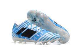 Wholesale Male Football Shoes - hot 2017 ACC Nemeziz 17.3 men soccer shoes MEssi male agility bandage football shoes