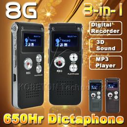 Elistooop Kleinste 8 Gb Professionelle Stimme Recorder Digitale Audio Mini Diktiergerät Mp3 Player 2018 Professionelles Design Unterhaltungselektronik