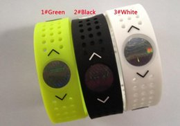 Wholesale Evolution Silicone Bracelet - Free Shipping wristbands PB EVOLUTION Balance Sport Perforated Silicone Energy Bracelets Wristbands Grid Bands With Retail Boxes