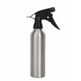 Wholesale Tattoo Cleaner Supplies - Wholesale-Tattoo Cleaning Tools 1pcs Silver Aluminum Alloy Tattoo Spray Bottle 300ml For Tattoo Supply Permanent Makeup