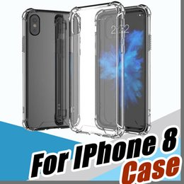 Wholesale Soft Silicone Case Lg - Soft TPU Silicone Clear Cases For IPhone 8 7Plus 6S Anti Shock For Galaxy Note 8 S8 S7 Edge Oneplus Moto LG E-SW