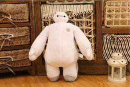 Wholesale Large Wholesale Stuffed Animals - Hot 30cm Baymax Plush Doll of Movie Stuffed Large Soft Baby Kids baby Toys For Children Christmas Gift Kawaii Juguetes