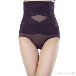 Wholesale Women Girdle Panties - Slimmer Body Waist Shapers High Waist Women Tummy Control Panties Waist Corset Bodysuit Girdle Carry Buttock Underwear