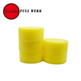 Wholesale Yellow Cleaning Sponge - Wholesale- FULL WERK 1pcs Auto Car wash car cleaning yellow color car sponge duster Window Cleaning Washer Sponge
