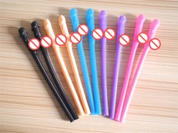 Wholesale Drinks Toys - Bachelorette Party Willy Straw Drinking Penis Straws Sipping Straw Sex Game Toys Hens Night Wedding Favor Products Free shipping