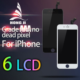 Wholesale Wholesale Price Iphone Screens - for iPhone 6 No dead Pixel 4.7 inch LCD Display Touch Screen Digitizer Full Assembly Black White Replacement Repair Parts Factory Price
