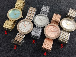 Wholesale Mm Holidays - 2017 New Geneva High diamonds fashion Quartz watch wholesale Noble temperament Business watch Holiday gift lady