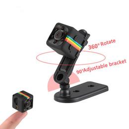 mini grabadora de video recargable Rebajas Sq11 HD Videocámara Cámara de visión nocturna 1080P Cámara deportiva Grabadora de video digital