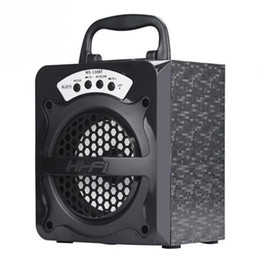 Wholesale home theater speaker system - Wholesale- MS-130BT Bluetooth speaker Portable Wireless speaker Home Theater Party Speaker Sound System 3D stereo Music