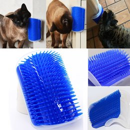 Wholesale Grooming Products For Pet - Newest Pet Cat Self Groomer Grooming Tool Hair Removal Brush Comb for Dogs Cats Hair Shedding Trimming Cat Massage Device with catnip WX9-53