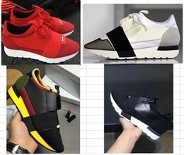 Wholesale Daily Promotion - free shipping Double 13 Promotions Ba's High Top Slip-on men Sneakers Fashion Pairs Design Daily Casual Elastic Shoes 36-47 drop shipping