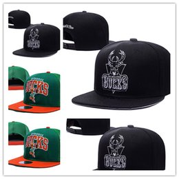Wholesale Design Snapbacks Cheap - New Design free shipping 2017 Milwaukee Adjustable Bucks Snapback Hat Thousands For Men Basketball Cap Cheap Hat men women Baseball Cap