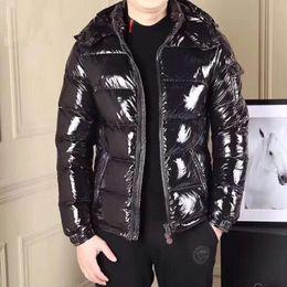 Wholesale Coat Handsome - 2017 New Men Down Coat Slim Handsome Men Down Jacket Winter Warm Goose Down Parkas Lammy Outerwear