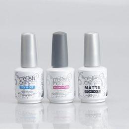 Wholesale Clear Nail Polish Wholesale - Harmony Nail Polish STRUCTURE GEL Soak Off Clear Nail Gel LED UV Foundation Top it off Nail art Gel Polish