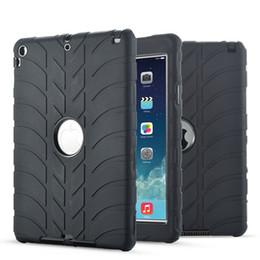 Wholesale Transparent Color Ipad Mini - Newest Fashion Skin Case For Apple ipad mini 4 mini 1 2 3 With Hybrid Plastic Silicone Anti Shock Dual Color Back Cover For Tablet Pc