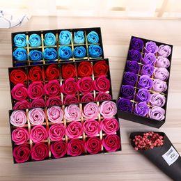 18 ADET Gül Sabunlar Çiçek Paketlenmiş Düğün Malzemeleri Hediyeler Olay Parti Mal Favor Tuvalet Sabunu Kokulu Banyo Aksesuarları Sevgililer Ç ... nereden