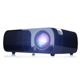 Wholesale US Stock BL HD P Mini projectors Home Cinema Theater quot inch LCD x480 D Portable Projector Free Shippping