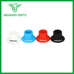 Wholesale Electronic Cigarette Rubber Holder - Wholesale- 3 pieces Vapesoon E-cig Silicone Suction Holder Rubber Cup Holder for Electronic Cigarette Atomizer Silicone Holder Accessory