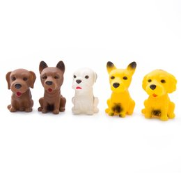 Wholesale Dog Squeeze Toys - Lovely Mini Dogs Beanie Boos Minifigures Screaming Squeeze Toy Hand Lepin Stress Relief Gags Jokes Receiver Fidget Toy
