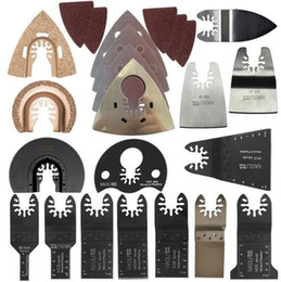 Wholesale Wholesale Oscillating Tool Blades - 66 pcs oscillating tool saw blade accessories for multifunction electric tool as Fein power tool etc hot sell