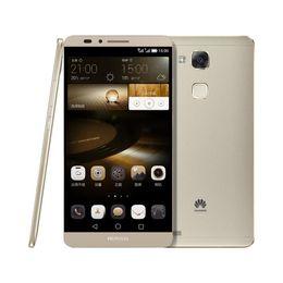 Wholesale Huawei Thai - Original Huawei ascend Mate 7 3GB ram 32G rom Android 4.4 Octa Core 4G LTE Mobile Phone Kirin 925 size 6.0 Dual SIM Cards