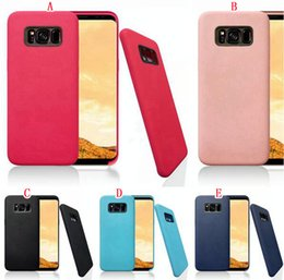Wholesale Chinese Fashion Wholesale - Fashion Colorful TPU PU PC Case For Samsung Galaxy S8   S8 Plus Luxury Cell Phone Skin Cover Shell Low Factory Price Free shipping 100pcs