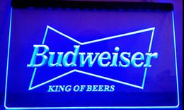 Wholesale Led Budweiser Signs - LS033-b Budweiser King Beer Bar Pub Club LED Neon Light Sign .jpg