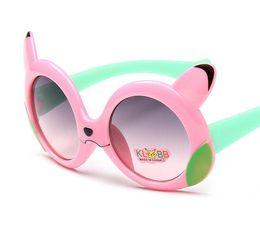 Wholesale Pikachu Mix - New Fashion Poke Pikachu Children Boys Girls Sunglasses Kids Beach Outdoor Travel UV Protective Eyewear Sunblock Sunglasses 24pcs Lot