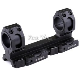 Wholesale Basis Rings - Hunting Tactical Scope conjoined 25.4mm 30mm aluminum picatinny Ring QD Mounts Bases Quick Detach Auto Lock Scope Mount