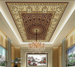 Wholesale Marble Solids - Wholesale-Home Decoration marble Ceiling murals wallpaper 3d wallpaper modern for living room murals ceiling
