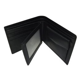 Wholesale Male Leather Shorts - Male Wallet Brand MB Cowhide Men Wallet With Coin Purse Genuine Leather