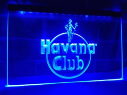 Wholesale Rum Signs - LE218b- Havana Club Rum LED Neon Light Sign