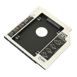 2019 sata dvd adapter Großhandels- Freies Verschiffen SATA zum SATA HDD harten Fahrer-Disketten-Adapter für 12.7mm Universal-CD / DVD-ROM Optibay günstig sata dvd adapter