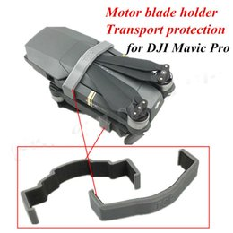 Wholesale Mask For Motor - Wholesale- 2pcs 3D Printed Motor Clip Blade Holder Bracket Propeller Fixator Transports Protection Holder Fuselage Clasp for DJI Mavic PRO