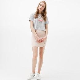 Wholesale Cute College Clothes - Cute College Loose T Shirt Women Summer Tops Print Gray Fashion Printed Tshirt Casual Short Camisas Mujer Women Clothes 50B0006