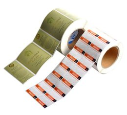 Wholesale Vinyl Printed Labels - Custom labels on rolls high quality Adhesive stickers printing vinyl PE waterproof material Labels stickers for skiin care cosmetic products