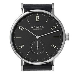 Wholesale Clock Pins - Mens Watches Top Brand Luxury nomos Famous Watches Fashion Casual Leather Men Watches Quartz Watch Clock Men Relogio Masculino Drop Shipping