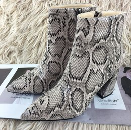 Wholesale Sexy Lycra Dresses Leopard - Leopard Print Sexy Women Boots Zipper Fashion Shoes Woman Dress Ankle Boots Soft Leather Lady Shoes Short Booties 41