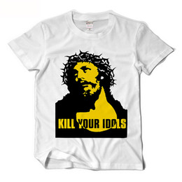 b453e735 Guns N Roses Alx Rose Same T shirt Men Kill Your Idols Funny T-shirts Rock  Music Camisetas Hombre Mens Short Sleeve Tees XS-XXL