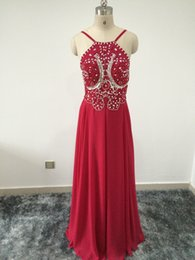 Solovedress Esquisate Chiffon Beads and Krystal Prom Dress Evening Party  Dress Mermaid Formal Gown vestido de festa longo (RP04) 00ac1296d19b