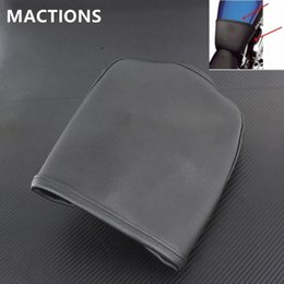 Wholesale Fuel Customs - 4.5'' Gall Fuel Tank Bra Oil Tank Cover Guard Protector for Harley Sportster XL 883 1200 Low XL1200L 06-11 XL883C Custom 04-09