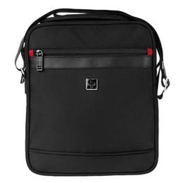 Wholesale Swiss 11 - Wholesale-Swisswin Swiss Men Messenger Bags 11 inch Waterproof Shoulder Bag 11 inch Women Messanger Satchels la bolsa de mensajero sw9726a