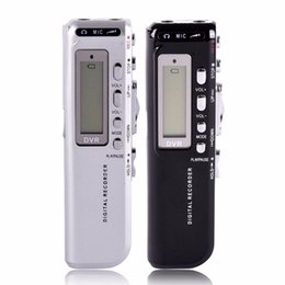 Wholesale Mini Voice Activated Recorder - Wholesale-Professional Mini Voice Activated Digital Audio Voice Recorder 8GB Recording Pen 125600 Minutes Hot Selling