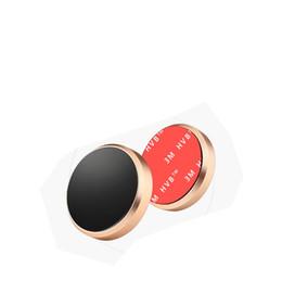 2019 наклейки samsung Магнитный мини-автомобильный держатель мобильного телефона держатель мобильного телефона Магнит плоский кронштейн подставка из алюминиевых сплавов металлическая наклейка для iphone Samsung скидка наклейки samsung