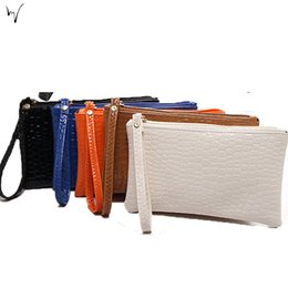 Wholesale Ladies Long Denim Dress - Alligator Wallets Coin Purses Open Pocket Polyester Comfort Ms. Bag PU Chains Package Messenger Lady Anniversary Cheap Promotion Bags