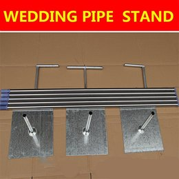 Wholesale Dance Pipe - Top Quality Wedding Backdrop Decoration Stand Stainless Steel Pipe Gauze Curtain Stent 3*3m 3*6m 4*4m 4*8m