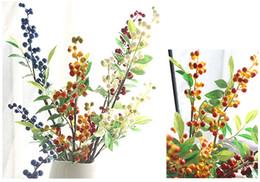 Wholesale New Scrapbook - 30pcs Mini Berry Stamen Artificial flower for Wedding scrapbook Decoration DIY wreaths craft Flowers New arrivel plastic bery fruits decorat