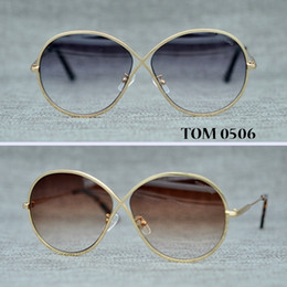 Wholesale Ft Men - FT 0605 Newest Butterfly brand Eyewear Fashion sunglasses women hot selling sun glasses High quality Oculos UV400 With original box.