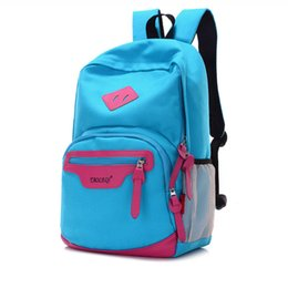 Wholesale Choose Locks - school bags for teenage girls fashion mochilas canvas material cheap price school backpack wholesale 6 color can choose