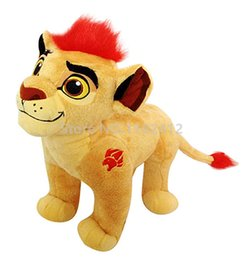 Wholesale Lion King Baby - The Lion Guard Kion Plush Toy Stuffed Animals 32Cm Lion King Simba Son Baby Kids Toys For Children Boys Gifts